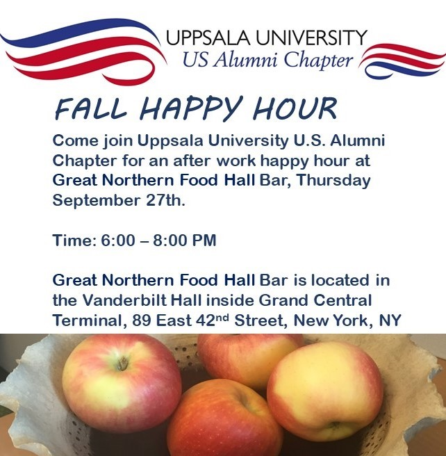 New York: Fall Happy Hour