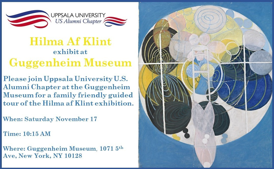 New York: Hilma af Klint guided tour at the Guggenheim Museum