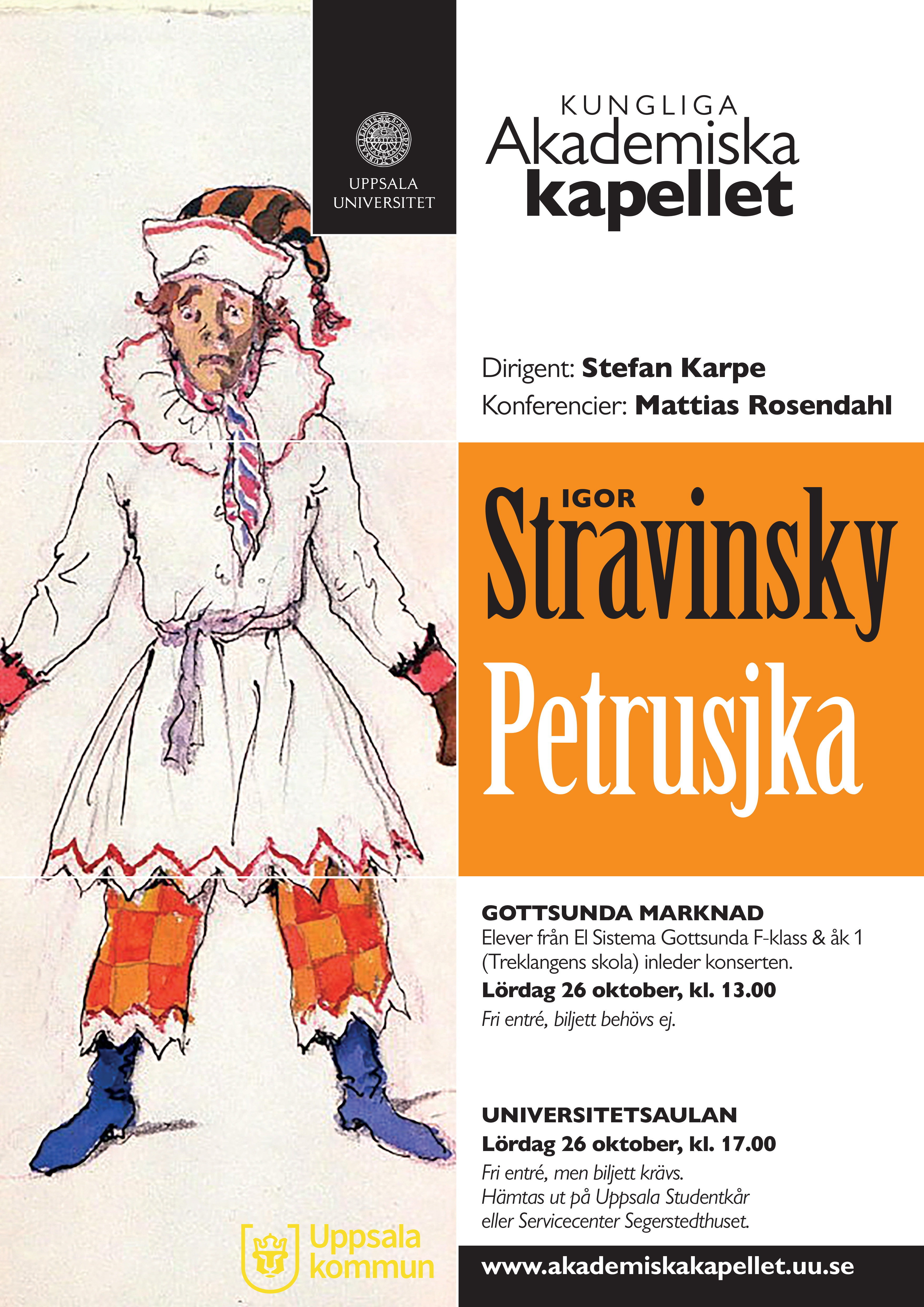 The Royal Academic Orchestra: Petrushka