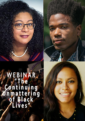 Webinar: The Continuing Unmattering of Black Lives: On the Ongoing Protests against the Logic of Lynching